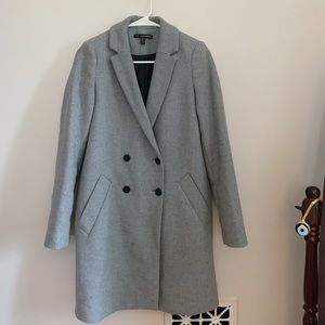 Double Breasted Masculine Coat